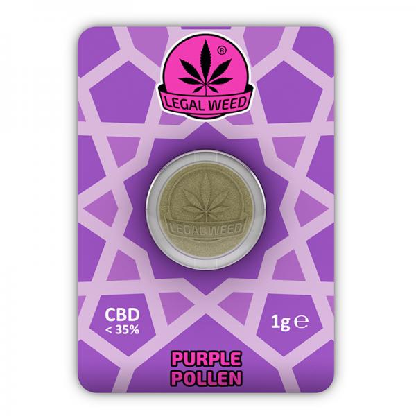 purple pollen legal weed