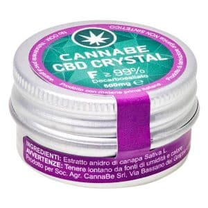 cristalli cbd fitocomplesso cannabe