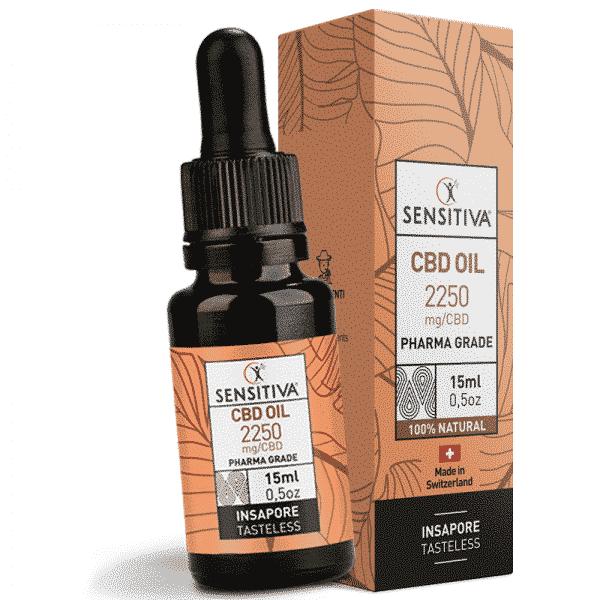 olio cbd sensitiva 15