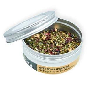 tisana di canapa antiossidante