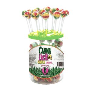 cannalick rasta cannabis lollipop