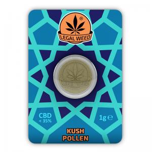 kush pollen legal weed
