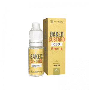 harmony e liquid cbd backed custard