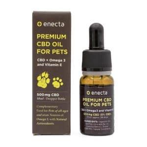 enecta olio cbd per animali
